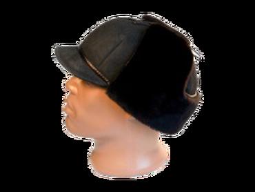 Шапка – ушанка с козырьком модель 20