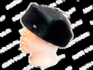 Классическая шапка с ушками модель 7